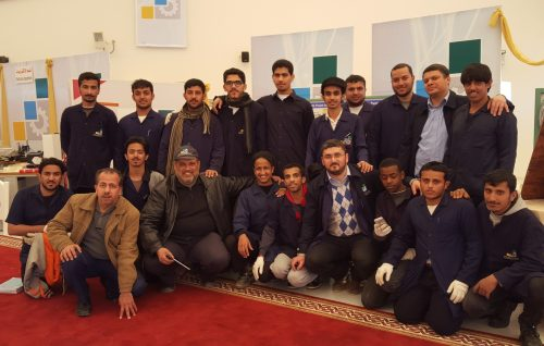صورة لطلابي وزملاء العمل